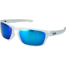 Oakley Sliver Stealth Sonnenbrille matte clear/prizm sapphire